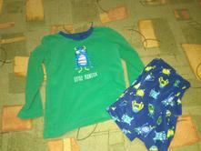 Teplé fleecové pyžamo rebel vel. 122, rebel,122