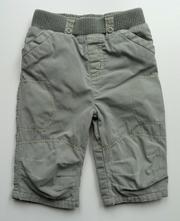 Zateplené plátěné kalhoty vel. 68 zn.next, next,68