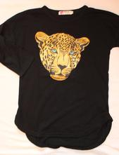 Op154. tričko s gepardem, 140