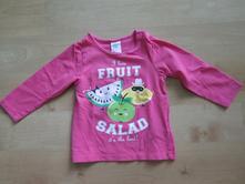 Bavlněné tričko h&m, h&m,74