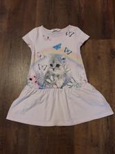 Šaty s kočkou, h&m,98