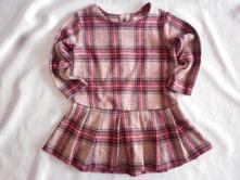 Vel. 74 kostkované šaty - tunika, next,74