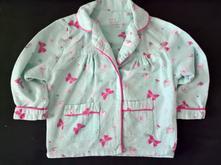 Vel. 80 flanelový kabátek od pyžama, 80