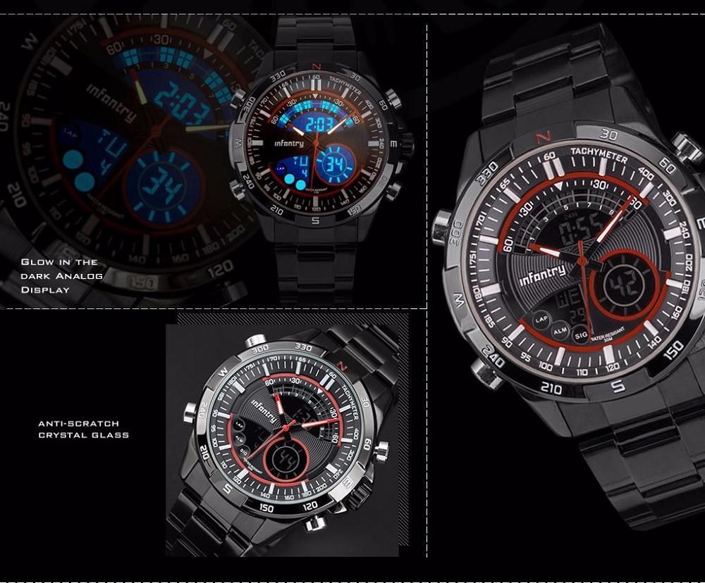 Luxusní značkové hodinky infantry - skvělý dárek 7b5b180fc4