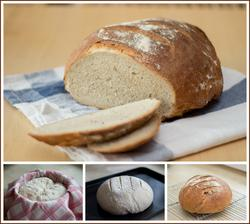 Pšenično-žitno-špaldový chléb