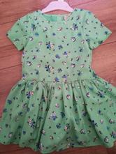 Zelené šaty, next,110