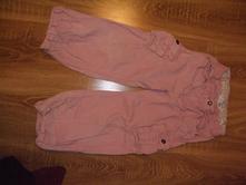 Manšestrové kalhoty, h&m,116