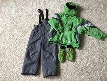 Zimní souprava / oteplovačky a bunda, 98