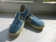 Jonap barefoot plátěnka modrá, vel. 29, jonap,29