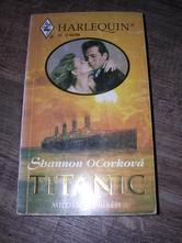 Milostný příběh titanic - kniha,