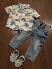 Chlapecké oblečení 3-6 měsíců (vel. 62-68), 62