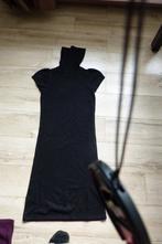 Černý dlouhý svetr k legínám, svetrové šaty, amisu,m