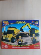 Stavebnice best lock town,