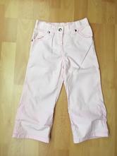 Dívčí letní plátěné kalhoty, palomino,104