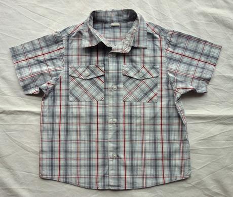 Košile s kr. rukávem vel. 18 - 24 m, 92