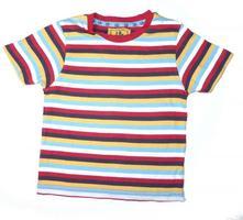 Pruhované bavlněné tričko, tu,92