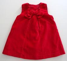 Sametové šatičky, mothercare,62