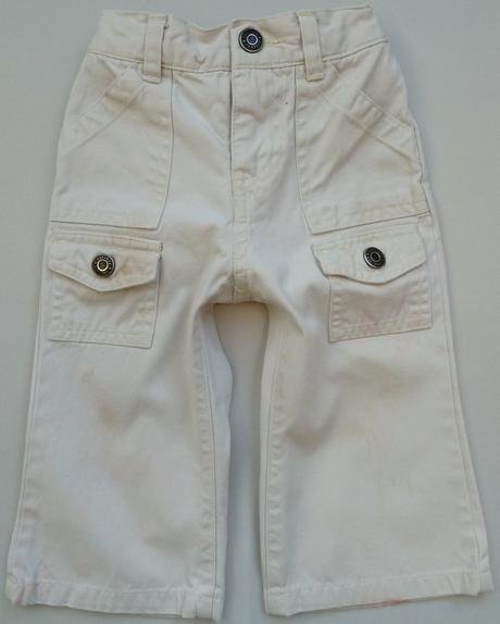 Plátěné kapsové kalhoty vel. 80 zn.gap, gap,80