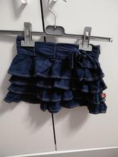 Riflová sukně vel. 92, 92
