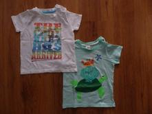 Dětská trička, h&m,86