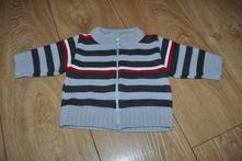 Pruhovaný svetr na zip, 68
