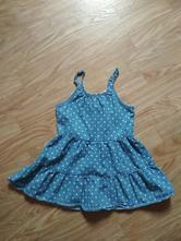 Riflové šaty 98/104, kiki&koko,98