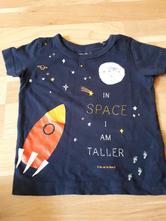 Černé tričko s raketou next vel. 74, next,74