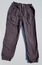 G225dívčí podšité plátěné kalhoty vel. 116, palomino,116