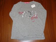 Nové dívčí triko terranova, vel. 116-122, terranova,122