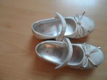 Bílé baleríny cupcake, deichmann,27