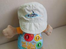 Béžová plátěná čepice s kšiltem, 92