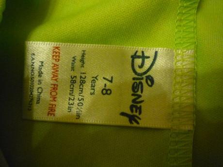 Zelené kalhoty ke kostýmu/tepláky, disney,128