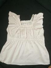 Bílá tunika s krajkou, marks & spencer,80