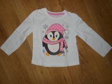 Triko s tučňákem, young dimension,92