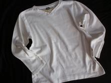 Vel. 116 bílé triko do véčka, 116