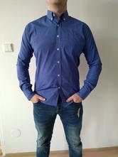 Krásná modrá pánská košile wayfarer, m