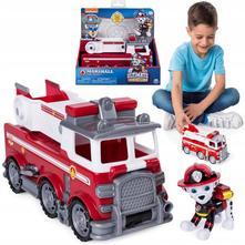 Paw patrol tlapková patrola marshall fire truck,