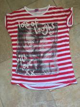 F&f pruhaté triko, tričko s obrázkem 152, f&f,152