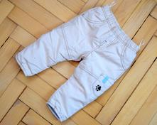 Zimní zateplené kalhoty zn. baby club, vel.68, baby club,68