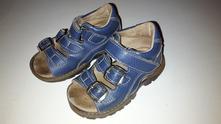 Kožené sandále , pegres,22
