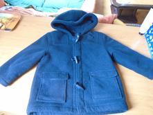 Flaušový kabátek, marks & spencer,104