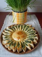 sluníčkový koláč