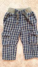 Bavlněné podšité kalhoty, next,86