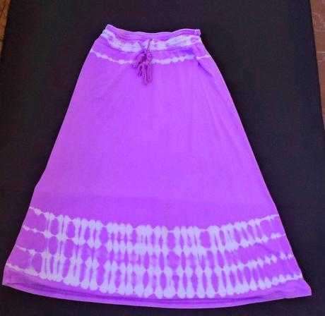 Dívčí dlouhá sukně 7 let,122-128, 128