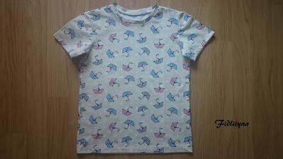 pyžamkové tričko