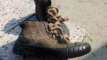 Celokožené boty, primigi,32