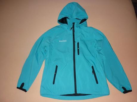 Dětská modrá funkční bunda weissenstein, 140