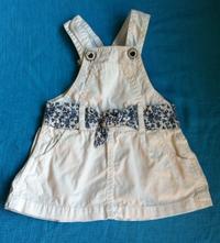Šaty bílé, zara,68