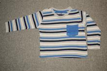 Pruhované tričko, rebel,80