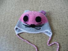 Háčkovaná zimní čepice, 104